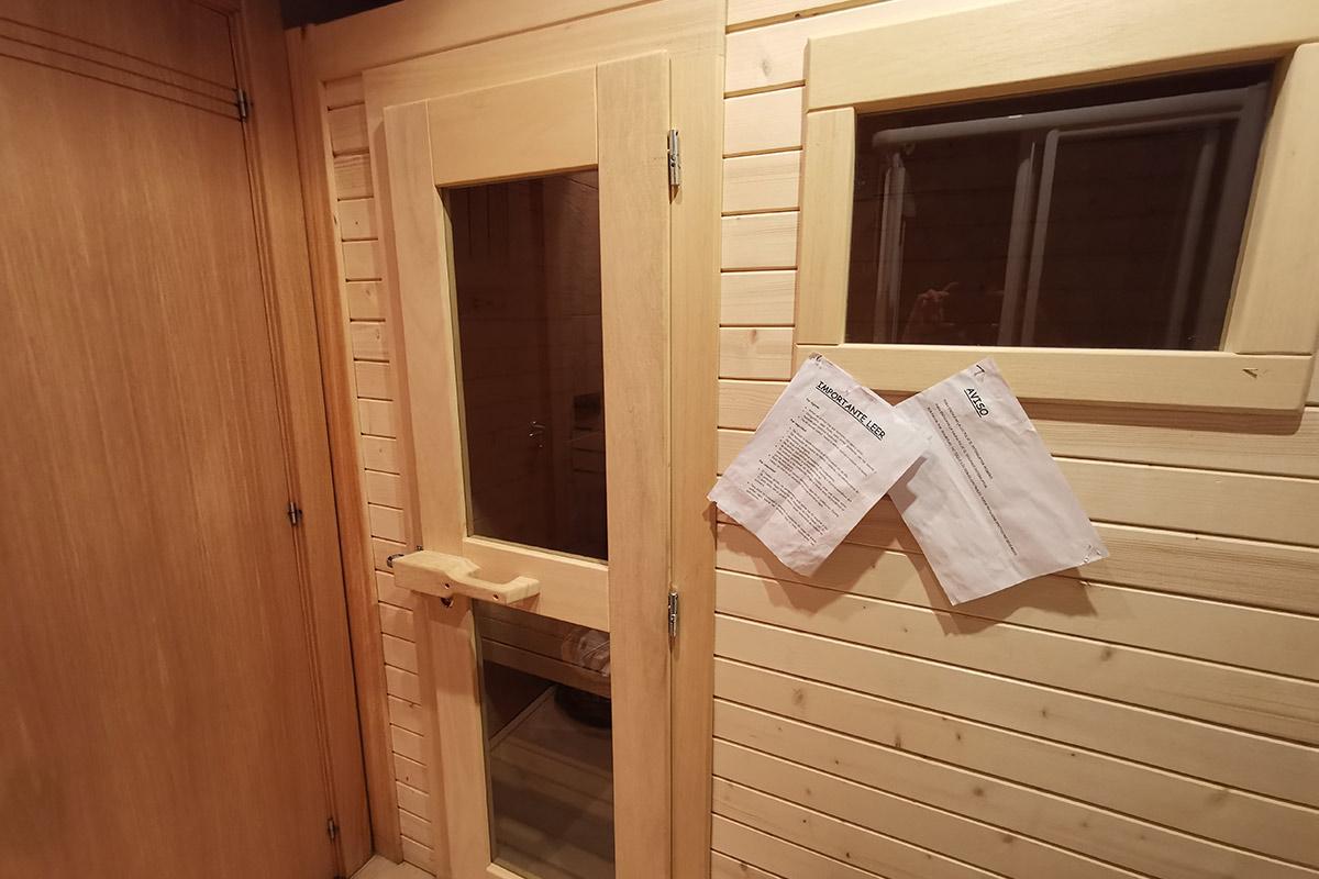 Sauna finlandesa Casa Dorondón