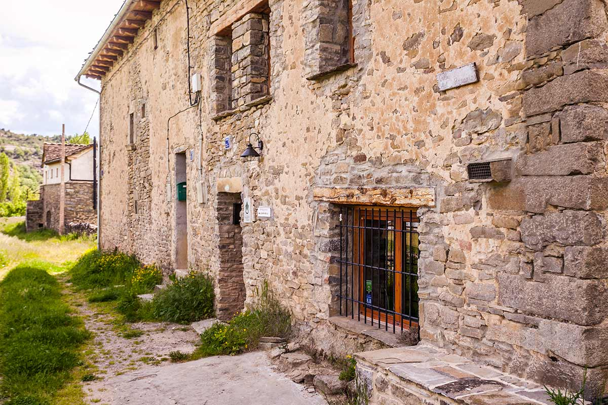 Fachada casa Dorondón